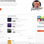 Product Hunt - Homepage